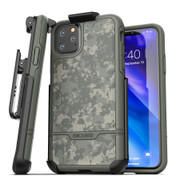 Encased Rebel Case iPhone 11 Pro with Belt Clip Holster - Camo