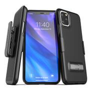 Encased Slimline Case iPhone 11 Pro with Belt Clip Holster - Black