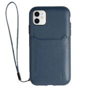 BodyGuardz Accent Wallet Case iPhone 11 - Navy