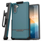 Encased Rebel Case Samsung Galaxy Note 10 with Belt Clip Holster - Angel Blue