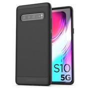 Encased Thin Armor Case Samsung Galaxy S10 5G - Black