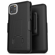 Encased Combo Case iPhone 11 Pro Max with Belt Clip Holster - Black