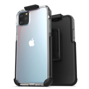 Encased Clear Back Case iPhone 11 Pro Max with Belt Clip Holster