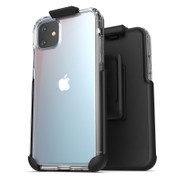 Encased Clear Back Case iPhone 11 with Belt Clip Holster
