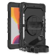 """Krakatoo Armor Case iPad 10.2"""" 7th Gen (2019) with Handstrap - Black"""