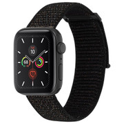Case-Mate Nylon Watch Band Apple Watch 1-5/42-44mm - Metallic Black
