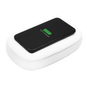 Krakatoo Phone UV Sterilizer with Fast Wireless Charging - White
