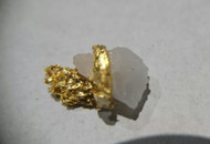 Gold in quartz,   Berringa Victoria Australia 19027