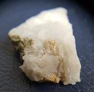 Gold on quartz,  micromount specimen.  Berringa Victoria Australia   18008