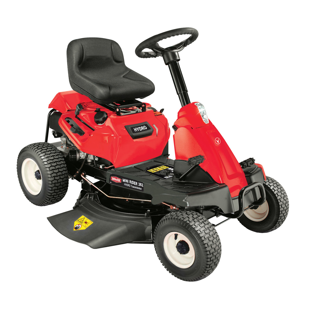 Rover Mini Rider 38230 Hydro Ride On Mower Warehouse Mowers