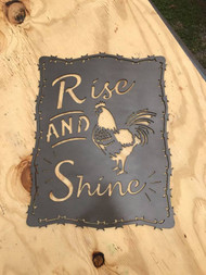 rooster, rise and shine, collector, kahl kreations