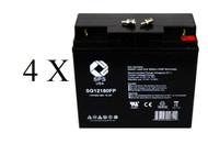 ONEAC ON2200XA-SNK battery set