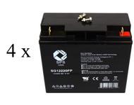 UB12180 -Exide Powerware PW5119-3000 UPS Battery set