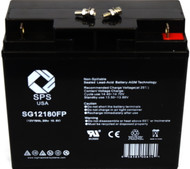 Single battery used in  APC Matrix 3000 UPS