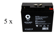 Parasystems Minuteman BP60V17 UPS Battery set