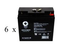 Deltec 2036C UPS Battery set