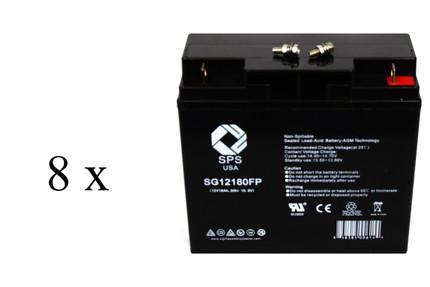 Parasystems Minuteman BP48V34 UPS Battery set