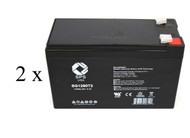 Safe SM650 high capacity battery set