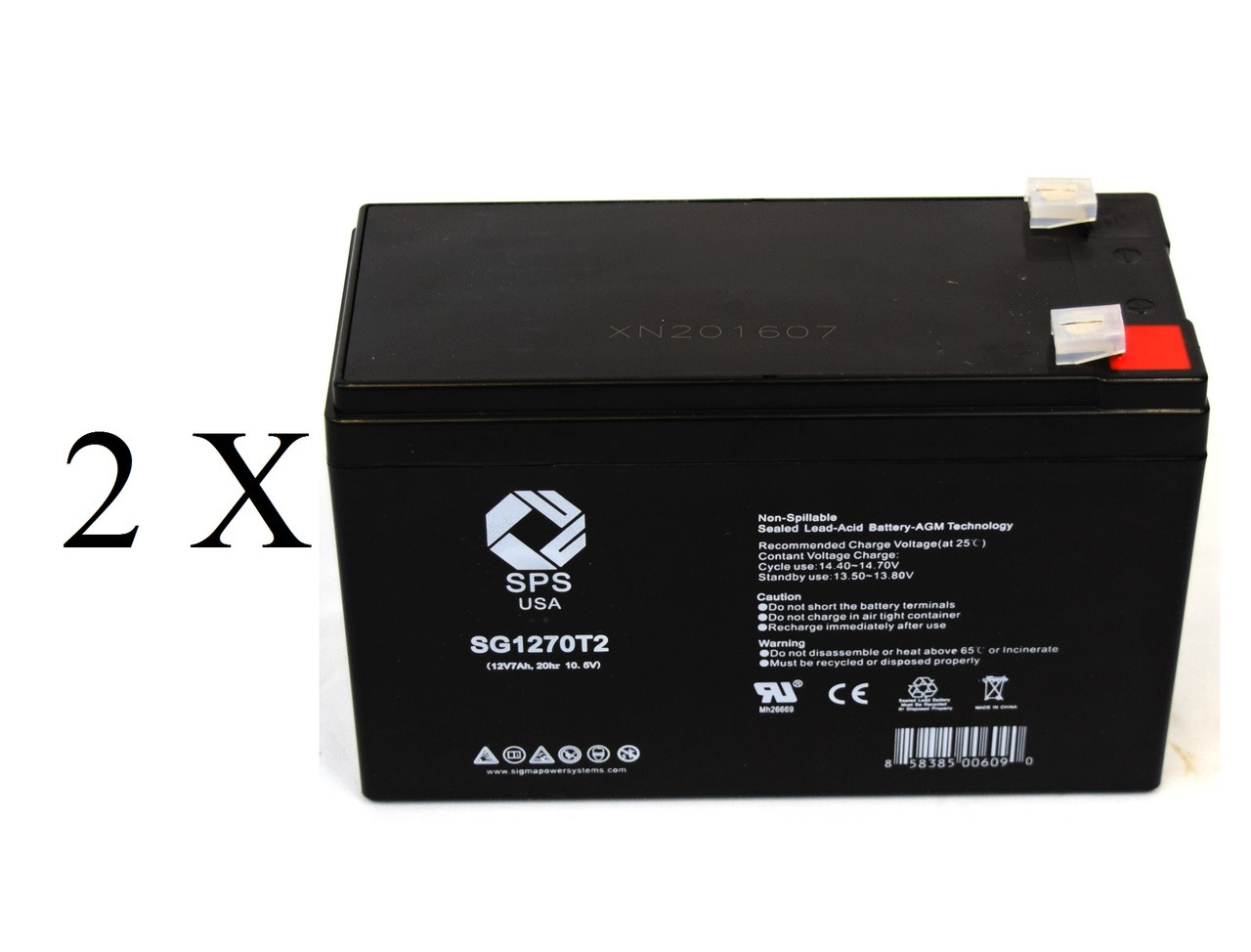 Rechargeable, high Rate APC Smart-UPS SUA2200RMUS Replacement Battery Pack