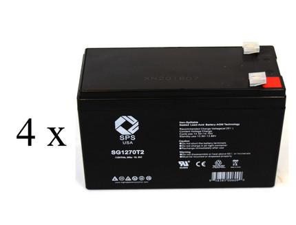 Hewlett Packard PowerWise 1250   battery set