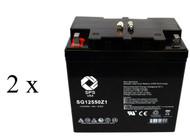 PowerStar PK55-12 Group 22NF Wheelchair  battery set