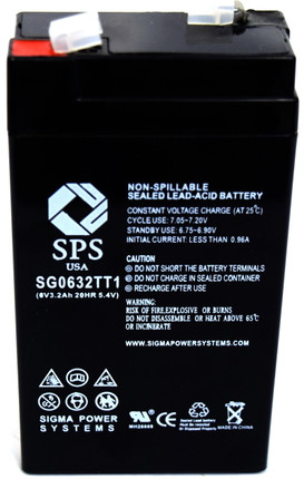 Panasonic LCR6V3.2P battery