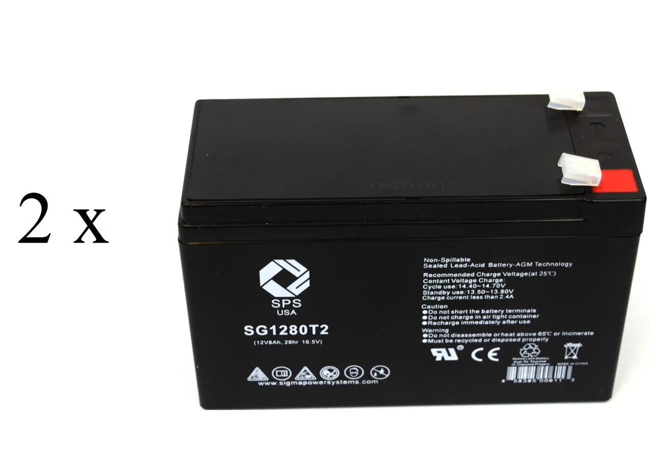 Rechargeable, high Rate para Systems Minuteman 450 Replacement Battery