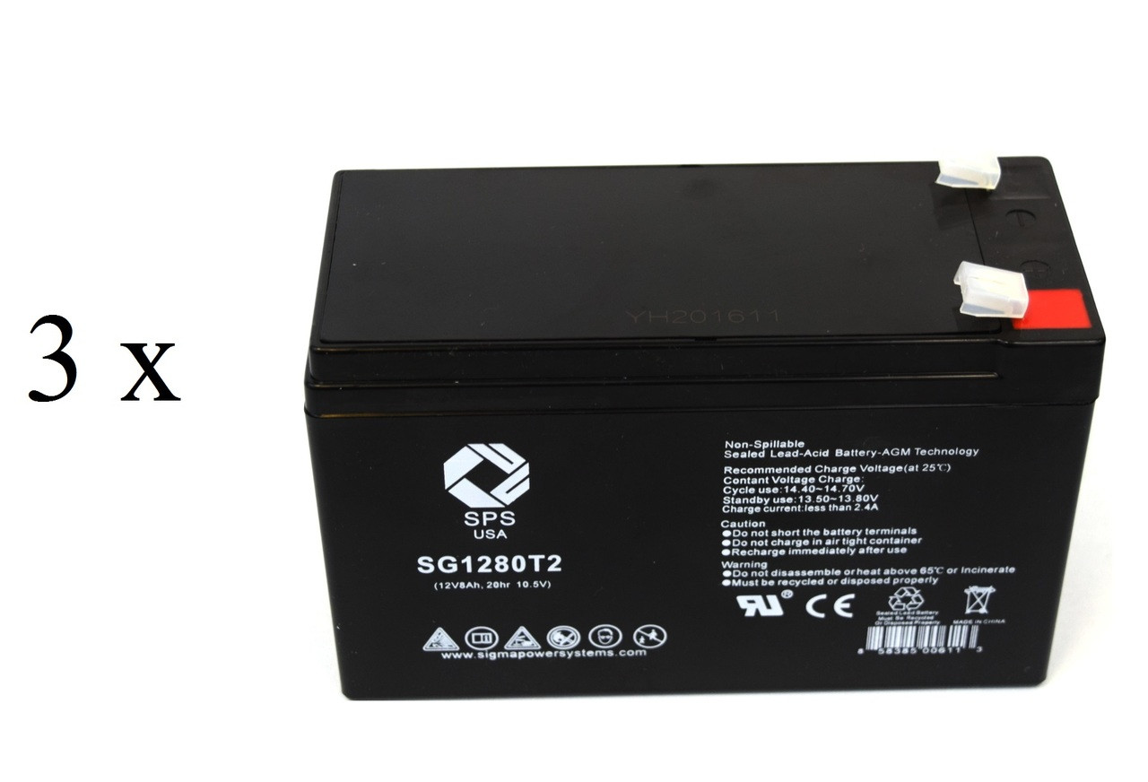 Rechargeable, high Rate Alpha Technologies Pinnacle Plus 1500RM Replacement Battery Pack