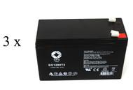 ATT 500VA UPS battery set 14% more capacity