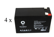 Sola 0510 0900U UPS battery set set 14% more capacity