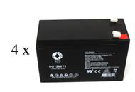 UPSonic LAN 100 UPS battery set set 14% more capacity