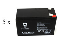 Minuteman CP 1K/2+ UPS battery set set 14% more capacity