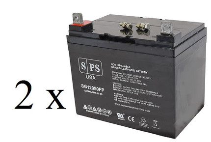 C.T.M. Mobility HS665 Wheelchair U1 scooter battery set