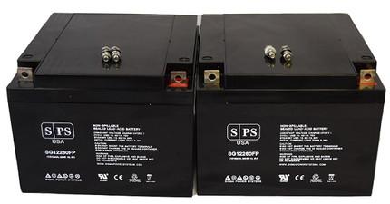 Amigo eXcite 590000 battery 12v 26ah
