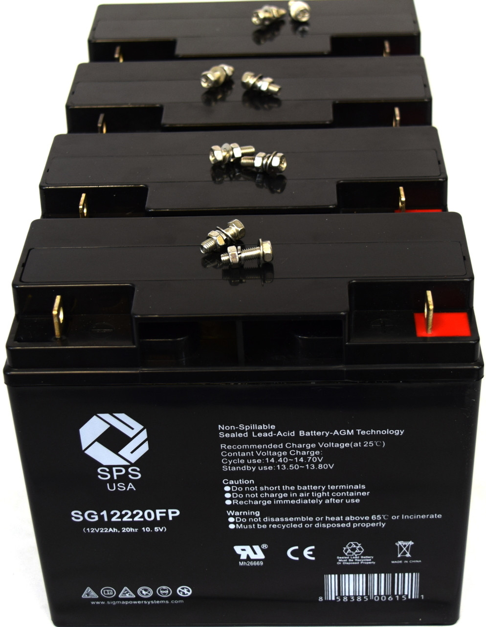 ONeAC ONXBCU-417 Compatible Replacement Battery Kit