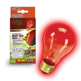zilla night red heat bulb 50 watt