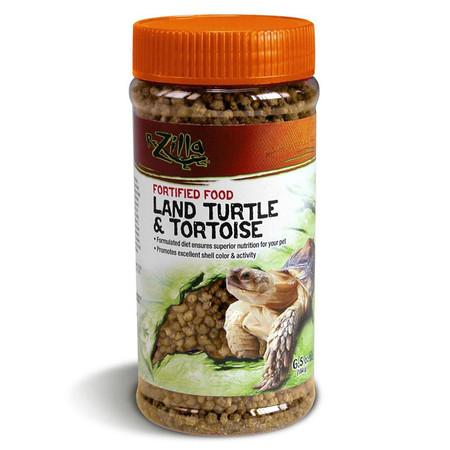 Zilla Land Turtle and Tortoise Pellet Food.