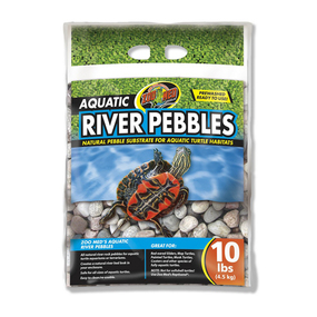 Zoo Med Aquatic River Pebbles 10lbs