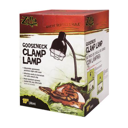 Goose neck Clamp Lamp Fixture