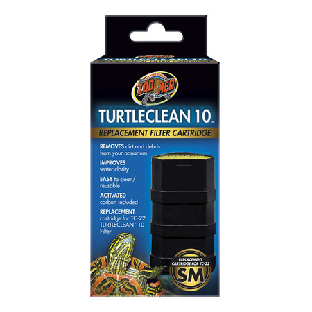 Zoo Med Turtle Clean 10 Replacement Filter Media.