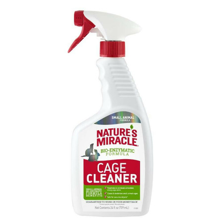 nature's miracle cage cleaner 24 oz.