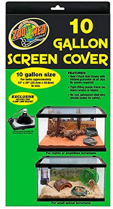 Zoo Med 10 Gallon Screen Cover