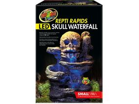 Zoo Med Repti Rapids Led Skull Waterfall Small