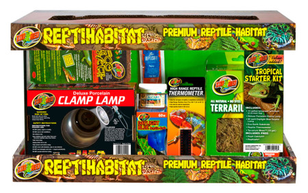 Zoo Med Reptihabitat Tropical Starter Kit