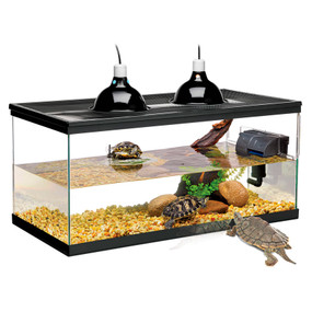 Zilla Deluxe Aquatic Turtle Kit 20 Gallon