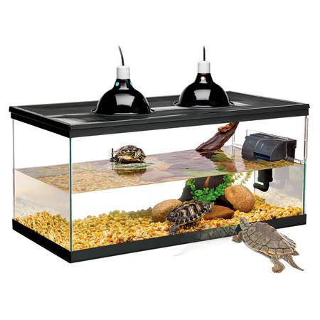 Zilla Deluxe Aquatic Turtle Kit 20 Gallon