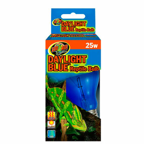 Zoo Med Daylight Blue Reptile Bulb 25 Watt