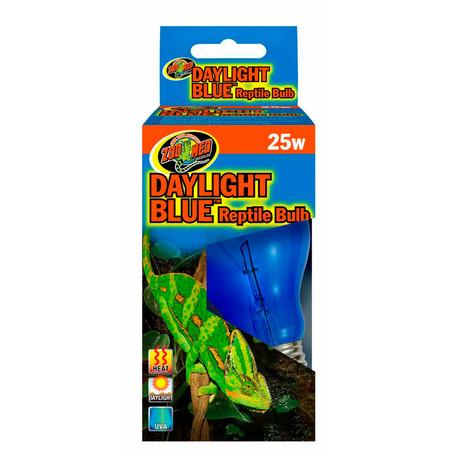 Zoo Med Daylight Blue Reptile Bulb 25 Watt