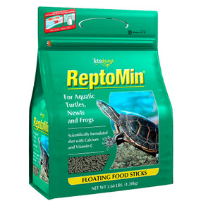 Reptomin Floating Turtle Sticks 2.5 lb. bag