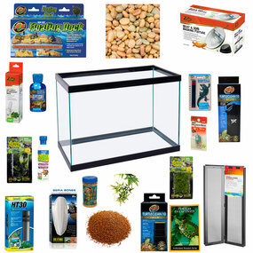 10 GallonTurtle Habitat Now With Free Shipping